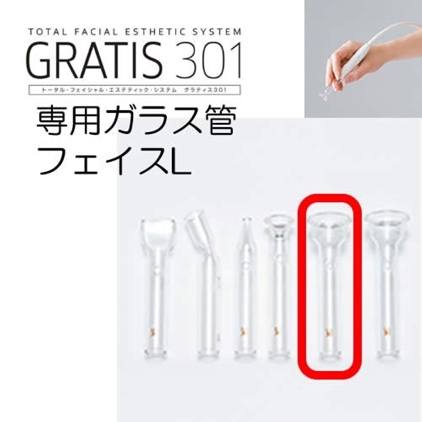 軍哲学的石GRATIS 301(グラティス301)専用ガラス管 フェイスL(2本セット)