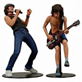 AC/DC アンガス・ヤンング&ブライアン・ジョンソン 2PK アクションフィギュア