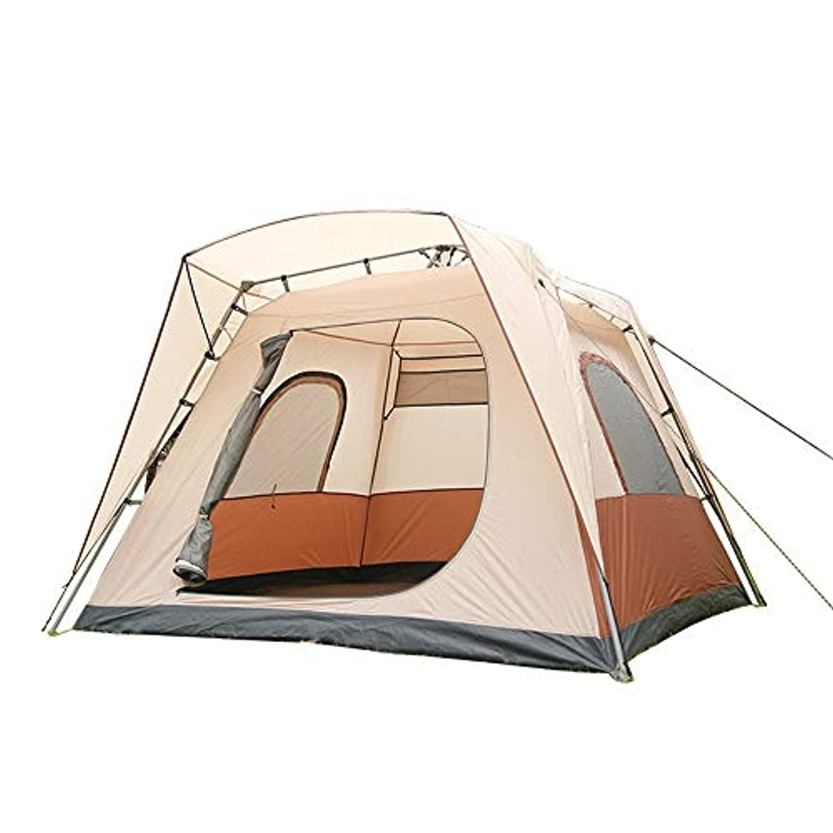 悲しいことに適切な口径DMMW 自動即刻のテント、5-8人のための油圧ばねの自動テント
