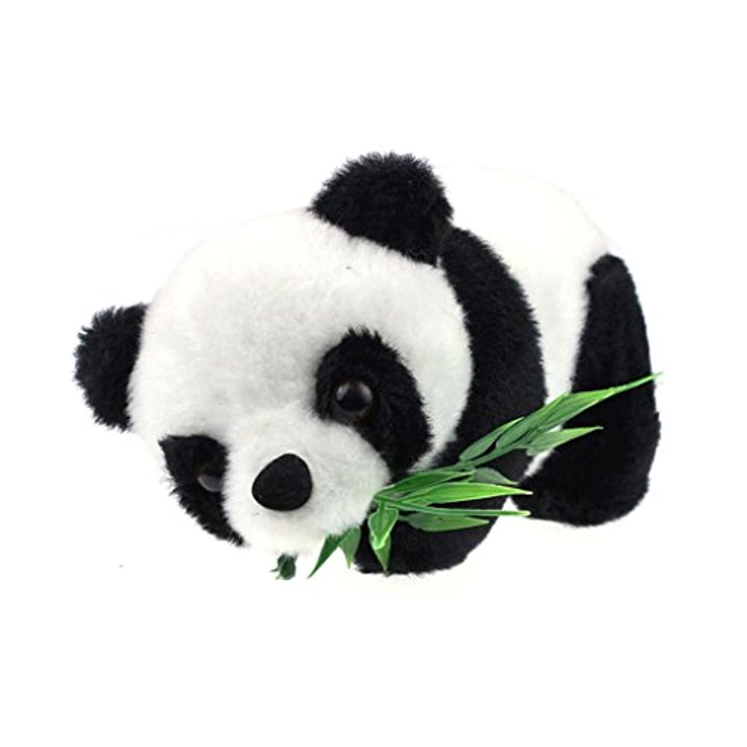 DDLBizソフトCute Panda Eat Bamboo動物人形おもちゃGood Gift For Babys子供用M