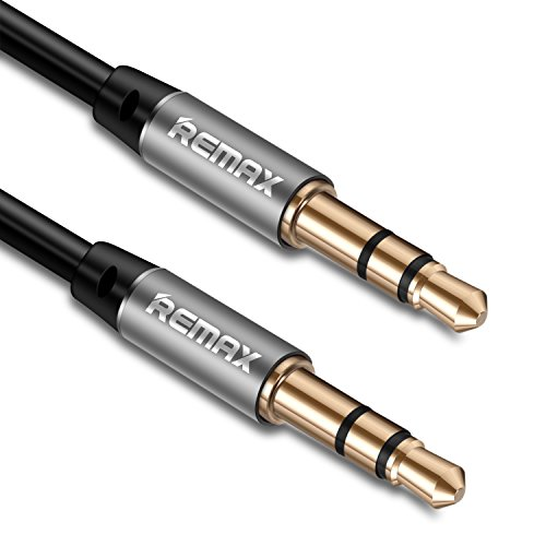 Aimshine ステレオミニプラグ オーディオケーブル 高音質再生 3.5mm AUXケーブル (1m)