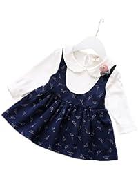 cd13ad56d2618 PAPA KIDS ベビー服 ベビードレス 女の子 フォーマル ドレス プリンセス ワンピース ガールズ ワンピース チュニック結婚式 入学