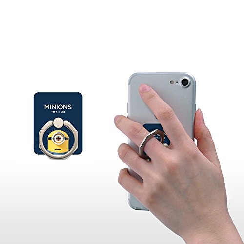 スマホ リング ハンドスピナー 指 携帯 ホルダー リング型 ストレス解消 落下防止 360度回転 iPhone / Galaxy / Xperia 多機種対応 - Carl [並行輸入品]
