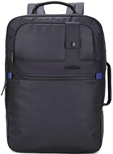 防水&多機能ポケット付PCビジネスリュック 旅行.ビジネスバックパック 多機能バックパック 流行 人気 BJ1500345 (ブラック)