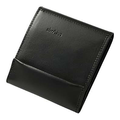 薄い財布 abrAsus ブッテーロレザーエディション ブラック