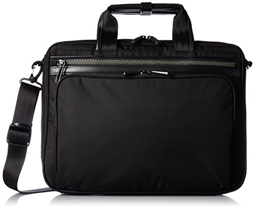 [エースジーン] 軽量ビジネスバッグ フレックスライト フィット 38cm A4サイズ 1気室 PC収納 54557 ブラック