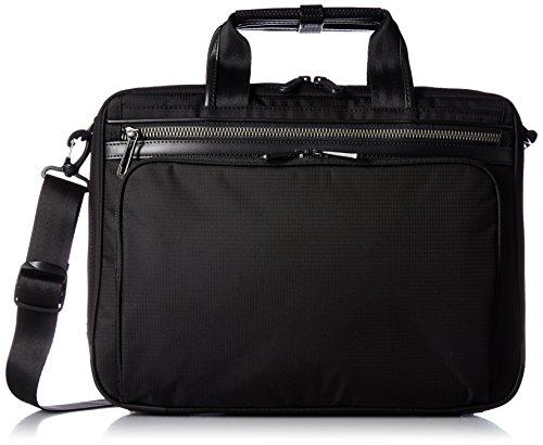 [エースジーン] ace.GENE 軽量ビジネスバッグ フレックスライト フィット 38cm A4サイズ 1気室 PC収納 54557 01 (ブラック)