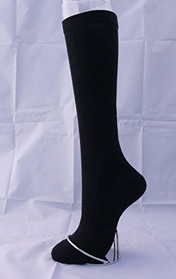 エーカーブラシ鮮やかなお悩み対策【あしサポ】段階着圧テーピングソックス (先丸, 25-27)