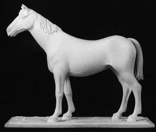 アンドレアミニチュアズ S5-A17 Bare Standing Horse