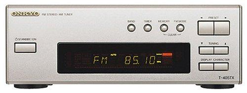 ONKYO INTEC205 FM/AMチューナー シルバー T-405TX(S)
