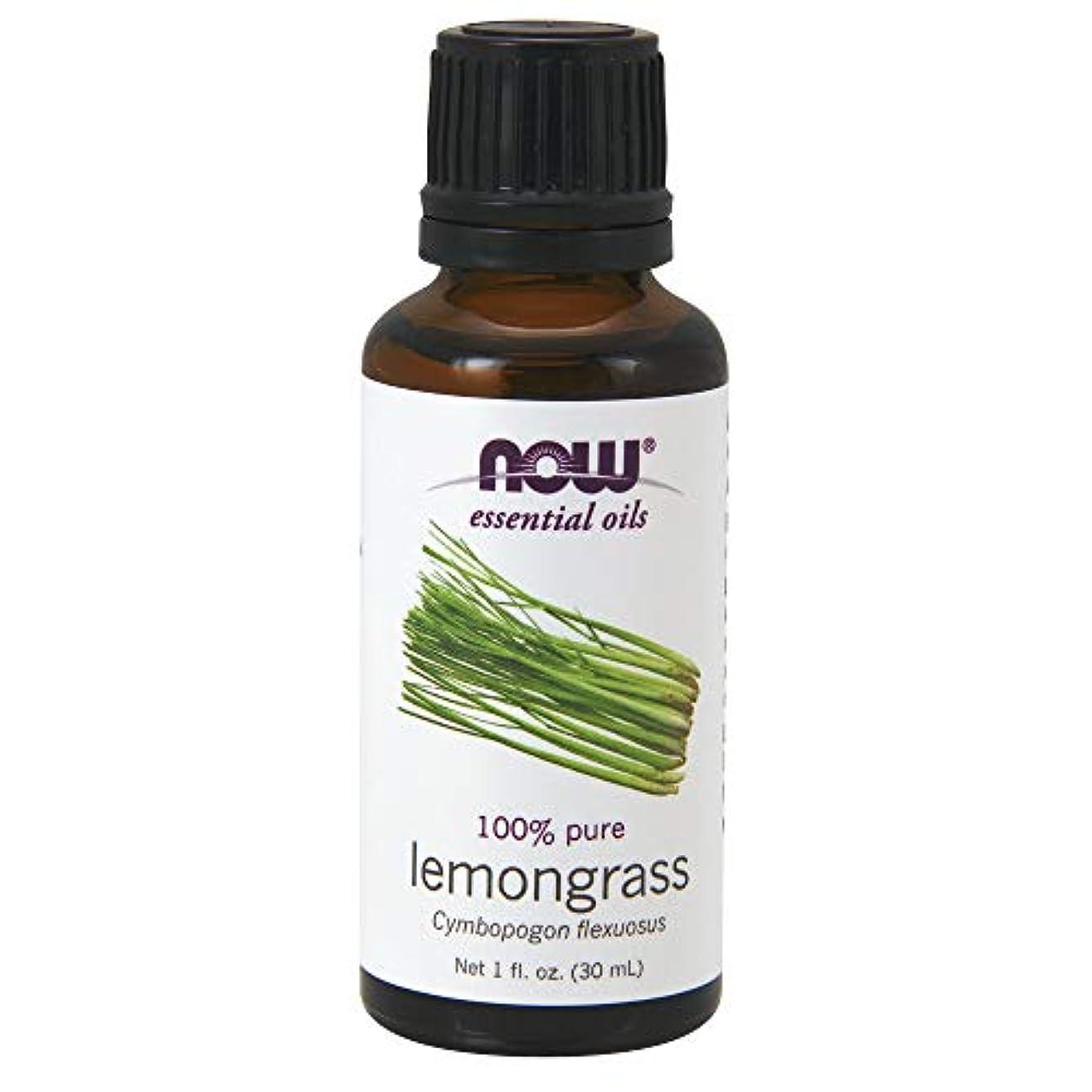 海峡放牧する株式Now Foods Lemongrass Oil 100% Pure, 1-Ounce (Pack Of 2)