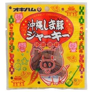 オキハム 沖縄しま豚ジャーキー 12g 48袋