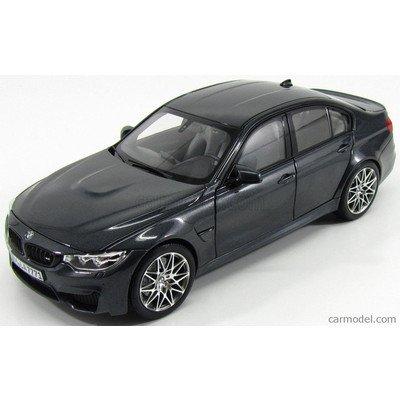 BMW 3シリーズ M3 ミニカー 1/18 NOREV - BMW - 3-SERIES M3 F80 COMPETITION 2016 MINERAL GREY MET