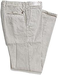 (インコテックススラックス) INCOTEX SLACKS 綿麻混 ノープリーツ パンツ/スラックス/603 SLIM FIT スリム フィット [並行輸入品]