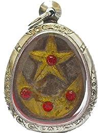 タイジュエリーAmulets Magic Dao Mae Nuer Hom Gambler Lucky Star by LP Pina Amulet