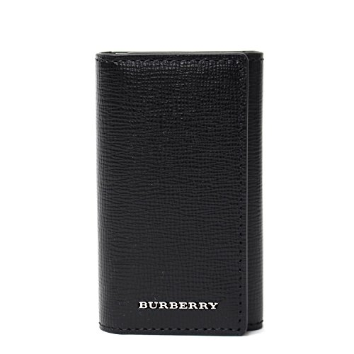 BURBERRY BUR・16Aロンドンレザー6連キーケース 4016492/BK/6410 ブラック/ブラック...