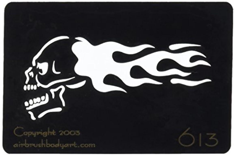 ハードリングスライス食べるボディステンシル #0613