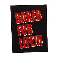 ベーカー (BAKER) FOR LIFE ステッカー スケートボードスケボー ステッカー