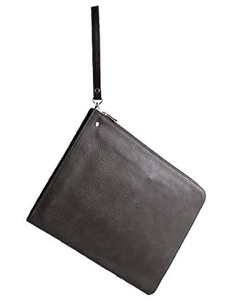 (モノマート) MONO-MART クラッチバッグ メンズ PUレザー BAG バッグ 通勤 通学 メンズ ブラウン ワンサイズ