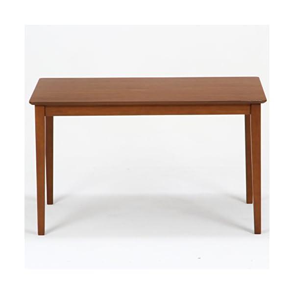不二貿易 ダイニングテーブル スノア 幅120...の紹介画像2