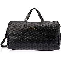 DKNY DT120QT7 Weekender Duffel Bag, Black, 53.4 Centimeters