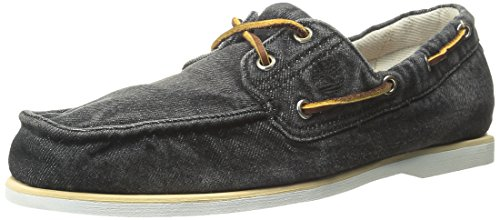 [ティンバーランド] Timberland(ティンバーランド) (TIMEW) Timberland Icon Classic 2 Eye Denim 6751B Black Denim (Black Denim/27)