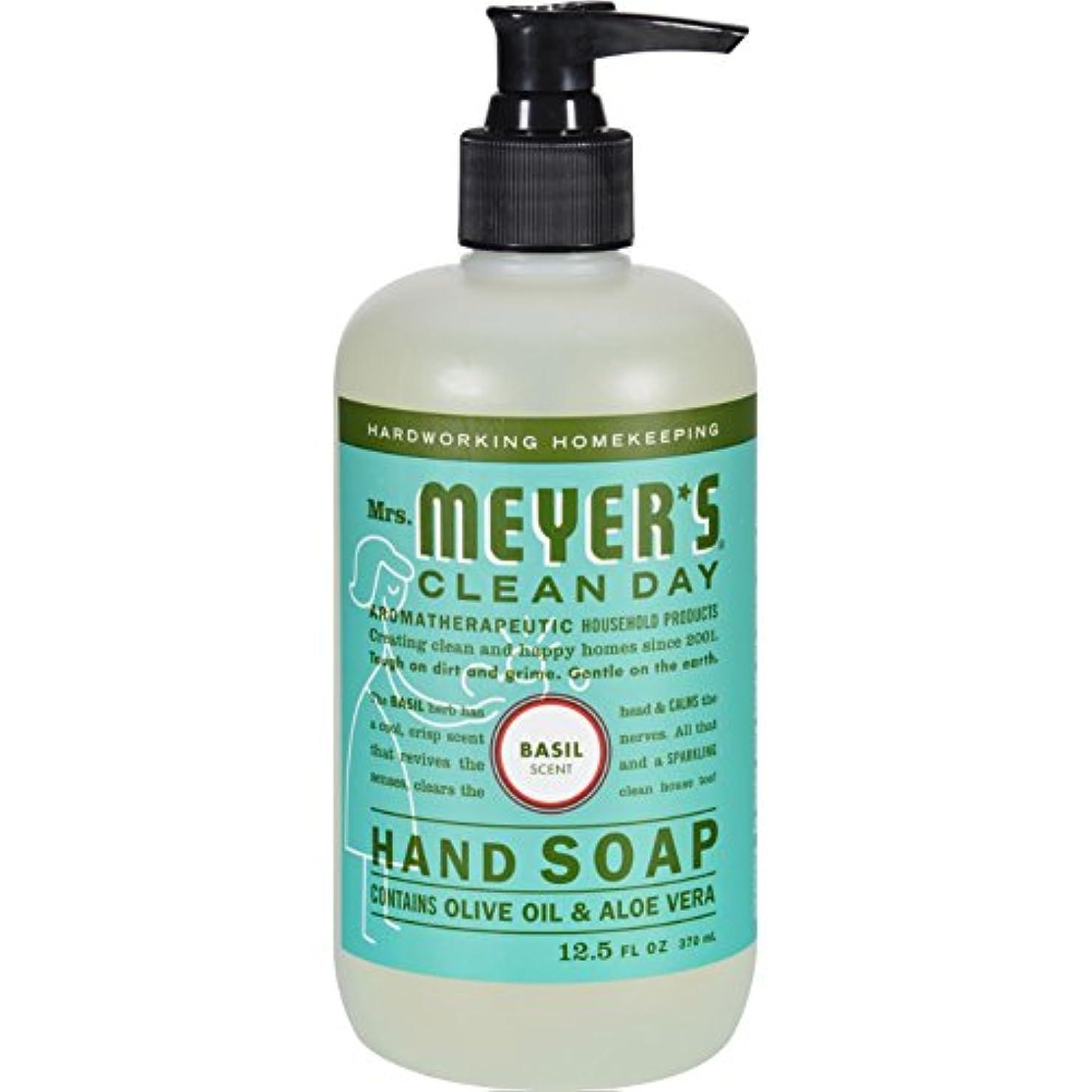 ゆるく二年生ドキュメンタリーMRS. MEYER'S HAND SOAP,LIQ,BASIL, 12.5 FZ by Mrs. Meyer's Clean Day