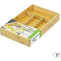 パール金属 キッチンメイト 竹製整理トレー HB-3736