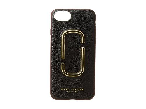 (マークジェイコブス) MARC JACOBS Double J Saffiano iPhone 7/ iPhone 8 Case アイフォン 7/8 ケース (並行輸入品)