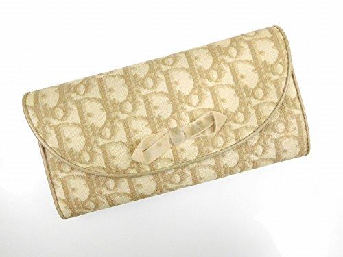 [クリスチャン・ディオール] Christian Dior 長財布 トロッター キャンバス×レザー X11159 中古