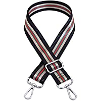Umily Adjustable Length Handbag Purse Strap Guitar Style Multicolor 3.8cm Wide Replacement Strap Crossbody Strap