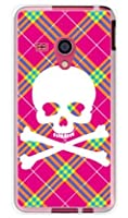 SECOND SKIN スカルパンク ピンク (ソフトTPUクリア) / for AQUOS PHONE EX SH-02F/docomo DSH02F-TPCL-701-J097