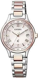 [シチズン]CITIZEN 腕時計 xC クロスシー エコ・ドライブ 電波時計 ティタニアライン ハッピーフライト シリーズ サクラピンク EC1165-51W レディース