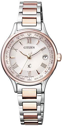 [シチズン]腕時計 xC クロスシー エコ・ドライブ電波時計 Titania Line Happy Flight シリーズ EC1165-51W レディース