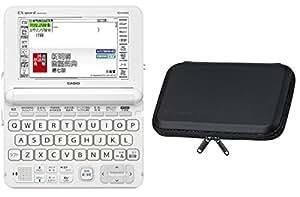 【Amazon.co.jp限定】カシオ 電子辞書 エクスワード 高校生モデルケースSET XD-K4805WE-A ホワイト 純正カバーセット