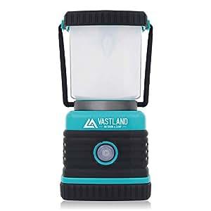 VASTLAND(ヴァストランド) LED ランタン 1000ルーメン 暖色 白色 4種類点灯モード 調光調色機能 防滴