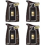 【4袋セット】 アックス ゴールド 男性用 フレグランス ボディソープ つめかえ用 (ウッドバニラの香り) 400g × 4袋