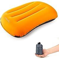 Motomo コンフォート トラベルピロー ネックピロー 腰枕空気枕 首枕 エア枕 旅行用