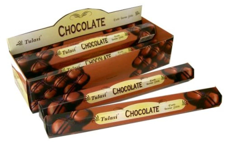 タップ鳴り響く訪問トゥラシ チョコレート 6個セット