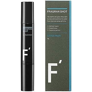 F'(エフダッシュ) フレグランショット シトラスムスクの香り 男性用練香水