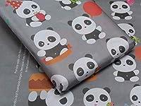 面白いパンダとスクラップブック作りのためのデザイン、クラフト紙、誕生日、記念日、パーティーと帰りの好意を含む大きいサイズ(50 x 70 cm)のeVinc 5ギフト包装紙