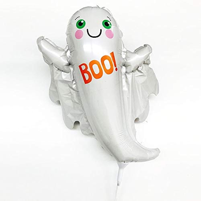 装飾用ハロウィンスティック風船 Boo!ゴースト  10222