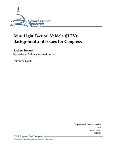 Joint Light Tactical Vehicle (JLTV): Background and Issues for Congress (English Edition)