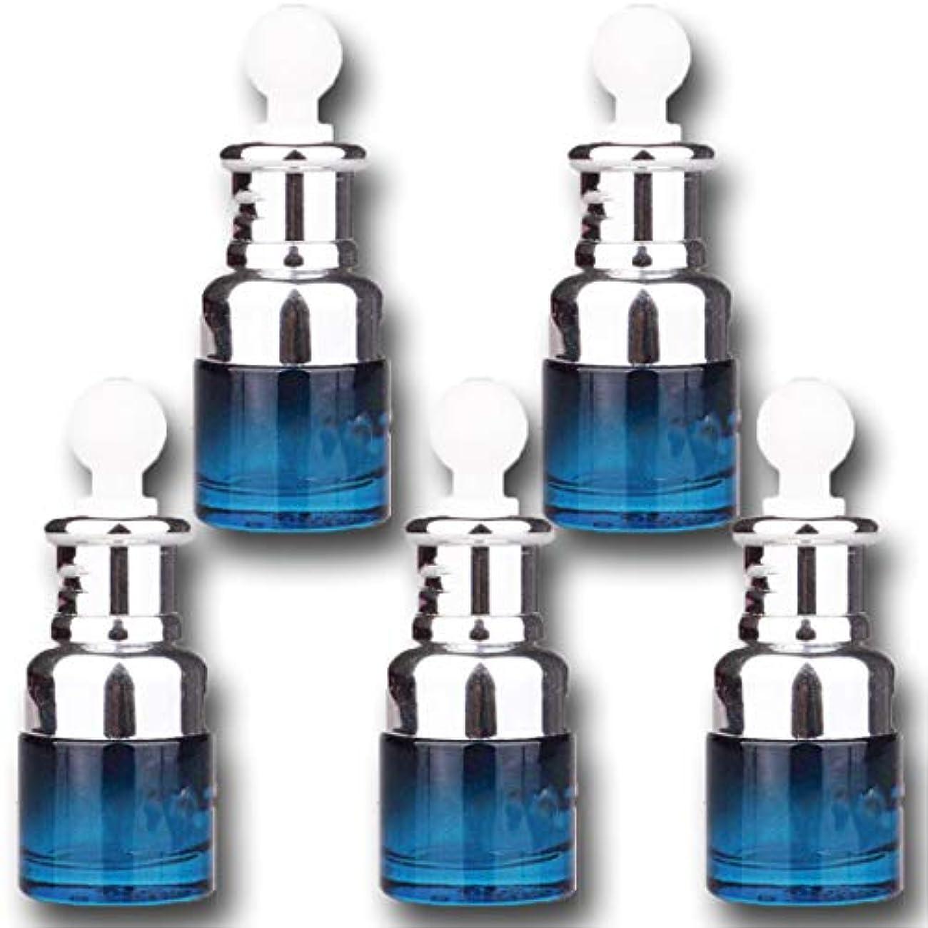 かかわらず担保当社【Nanmara】スポイト式 遮光ボトル 5個セット 20ml エッセンシャルオイル アロマ 詰め替え容器
