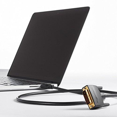 『Amazonベーシック HDMI-DVI 変換ケーブル 1.8m (タイプAオス - DVI24pinオス)』の1枚目の画像