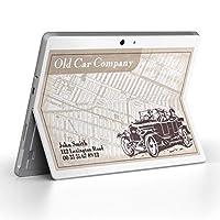 Surface go 専用スキンシール サーフェス go ノートブック ノートパソコン カバー ケース フィルム ステッカー アクセサリー 保護 その他 車 英語 文字 007034