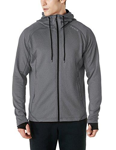 (テスラ)TESLA ランニング ジャケット [UVカット・防風]ランニングウェア 長袖 スポーツ ジャージ 上着 MKJ03-LGY_L