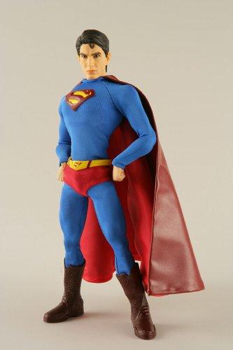 RAH(리얼 액션 히어로즈) SUPERMAN(1/6스케일 ABS&ATBC-PVC도장필 가동 피규어)- (2006-08-13)