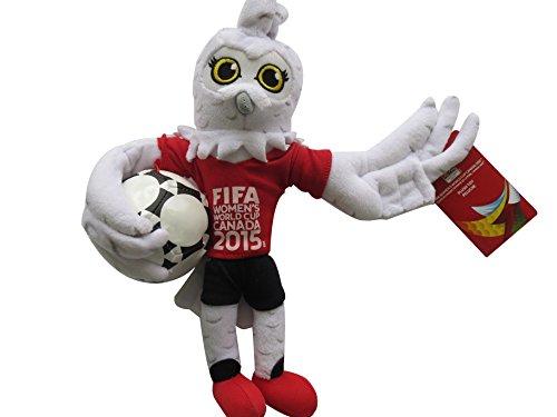FIFA WOMEN'S WORLD CUP 2015(2015 FIFA女子ワールドカップ) オフィシャルグッズ ぬいぐるみマスコット25cm MS15031