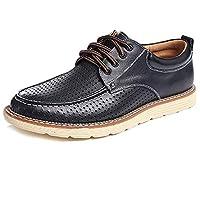 Stylein 革靴 ビジネスシューズ メンズ 本革 レースアップ 通勤 カジュアル 耐磨耗性 滑り止め